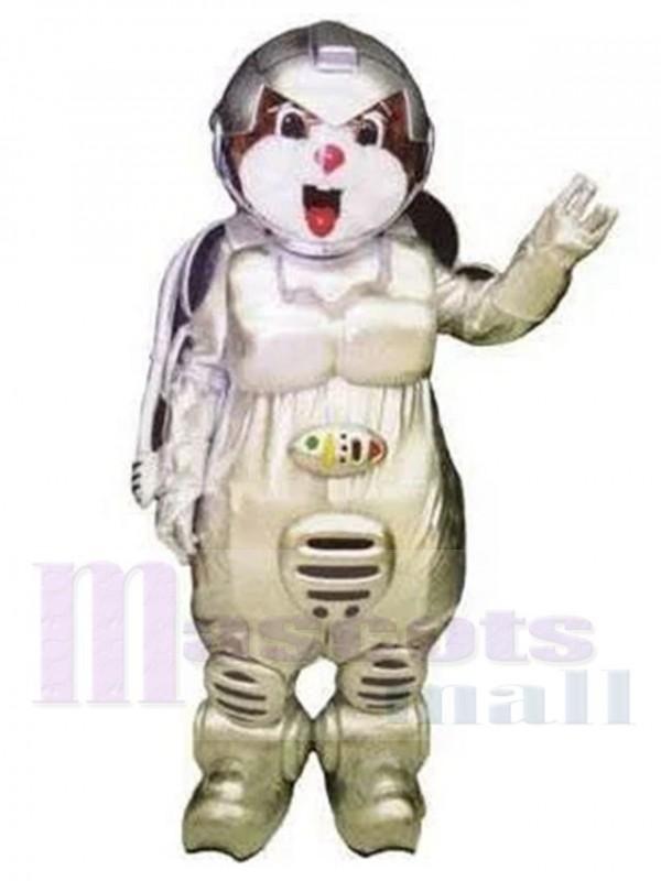 Astronaut Bär maskottchen kostüm
