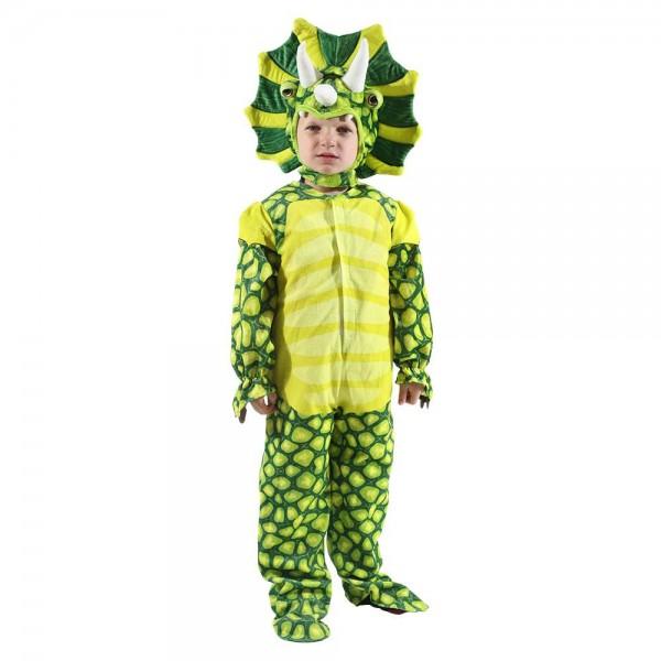 Neu Triceratops Dinosaurier Kostüm Dinosaurier Overall Halloween Weihnachten Kleid oben Geschenk zum Kind