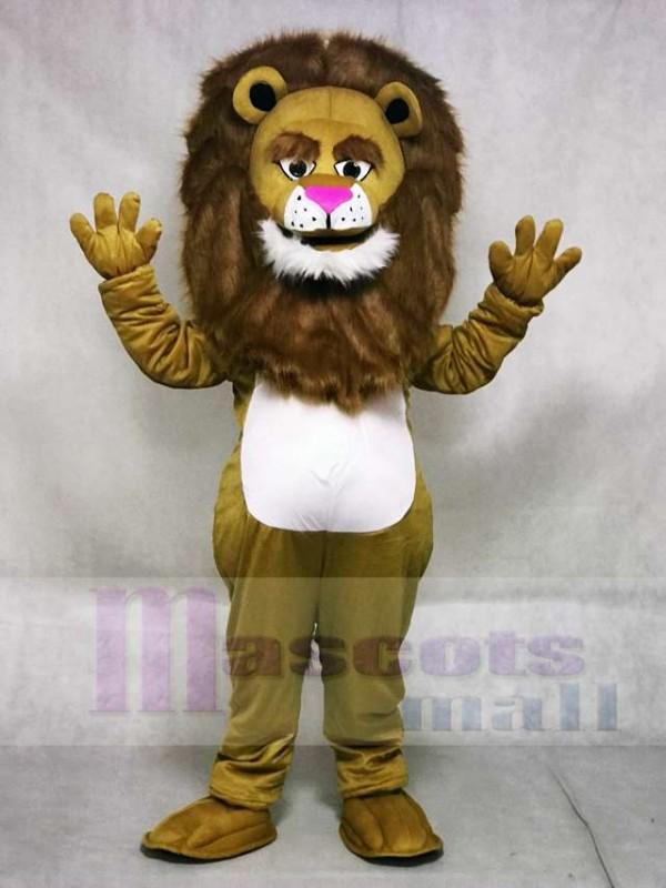 New Fierce Wally Löwe Maskottchen Kostüm Tier