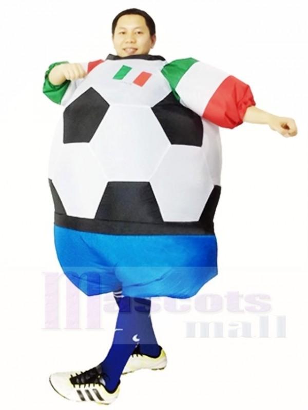 Weltmeisterschaft Italien Fussball Spieler Aufblasbare Halloween Weihnachten Kostume Fur Erwachsene