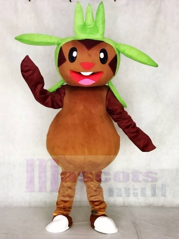 Chespin Pokemon Pokémon GO Maskottchen Kostüm Pocket Monster Grass Typ Chespie
