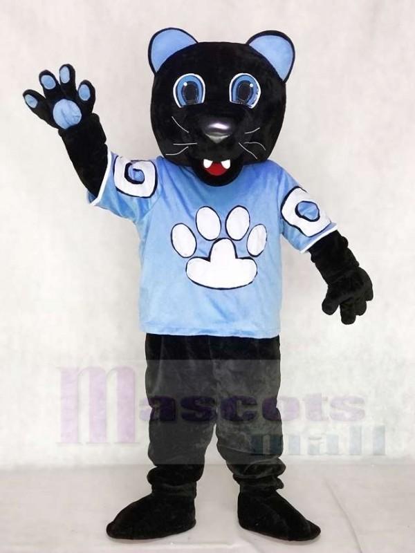 Sir Purr des Carolina Panthers Maskottchen Kostüm von der National Football League