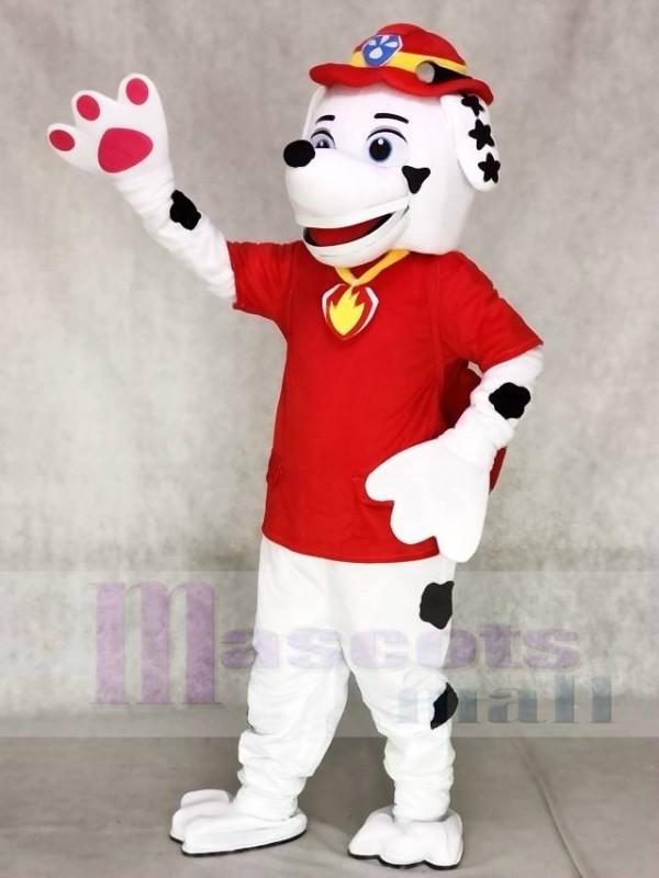 Paw Patrol Marshall Dalmatiner Welpen Feuer Hund Maskottchen Kostüme Welpen Cartoon