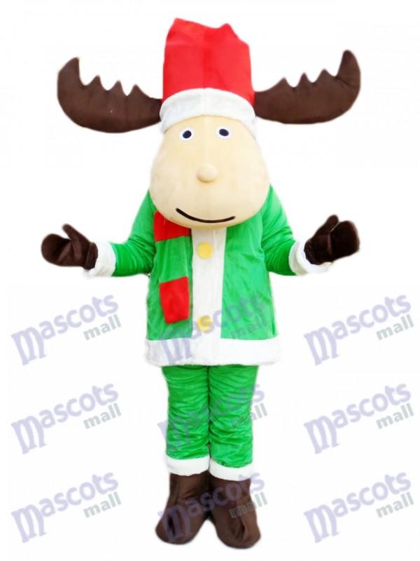 Weihnachten Rotwild Ren Maskottchen Kostüm Karikatur