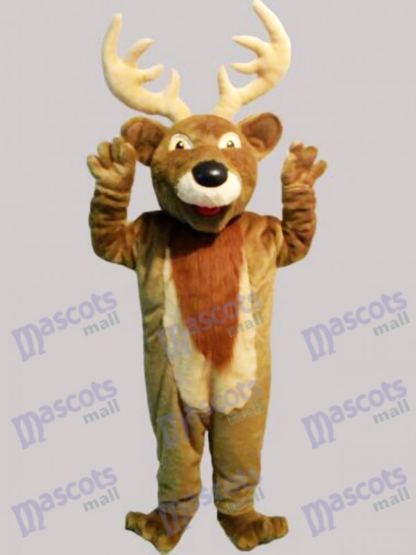 Weihnachten Elch Hirsch Maskottchen Kostüm Tier