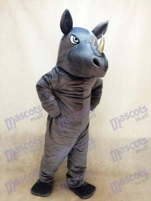 Neues Nashorn Maskottchen kostüm
