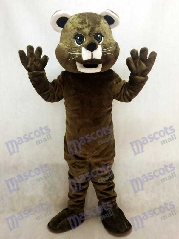 Brown Baby Cougar Maskottchen Kostüm Tier
