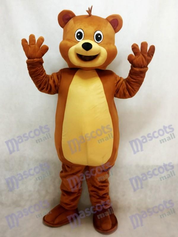 Fit Braunbär Maskottchen Kostüm Tier