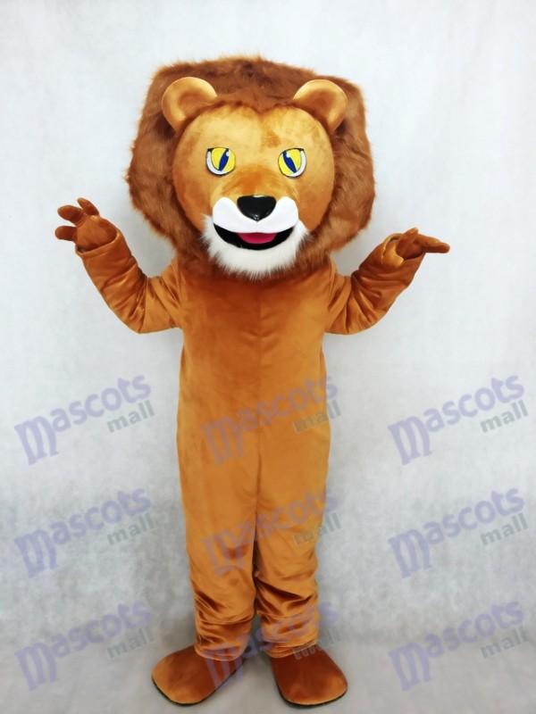 Lewis das Löwe Maskottchen Kostüm Tier