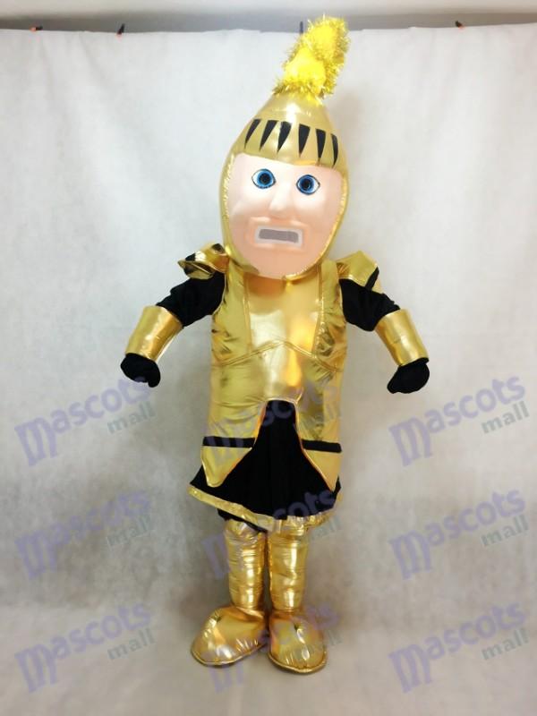Goldene Erwachsene Ritter College St. Rose Maskottchen Kostüm