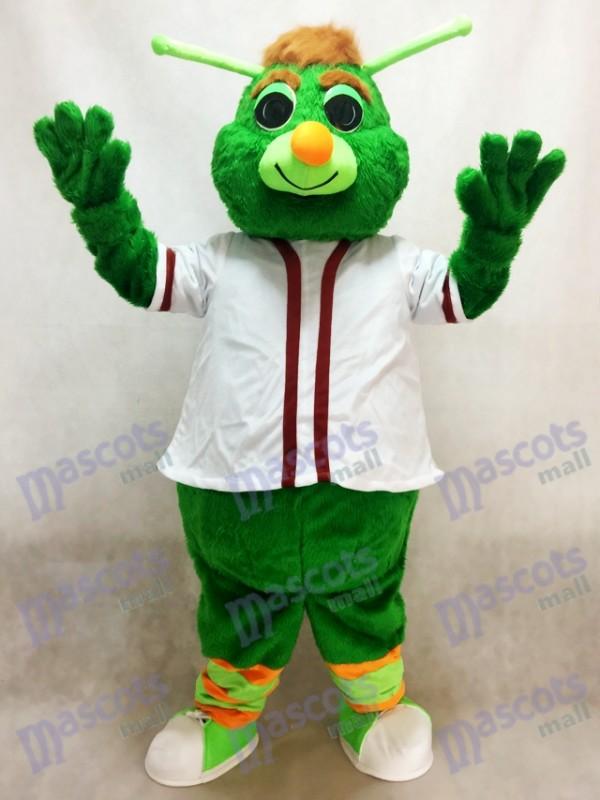 Grünes Guilford das Grashüpfer Maskottchen Kostüm