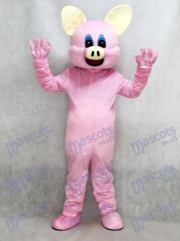 Neues rosa Schwein Maskottchen erwachsenes Kostüm Tier