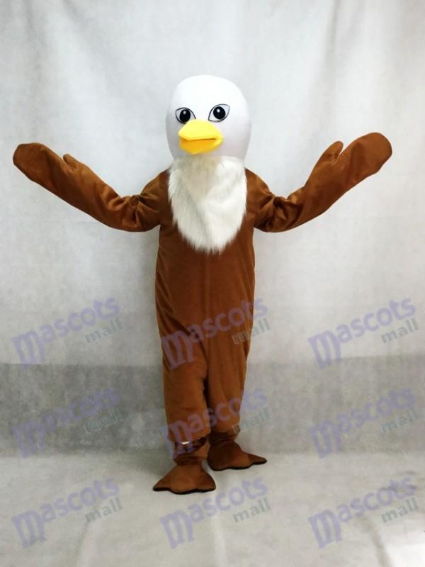 Brown Feather Eagles Maskottchen Erwachsene Kostüm Tier