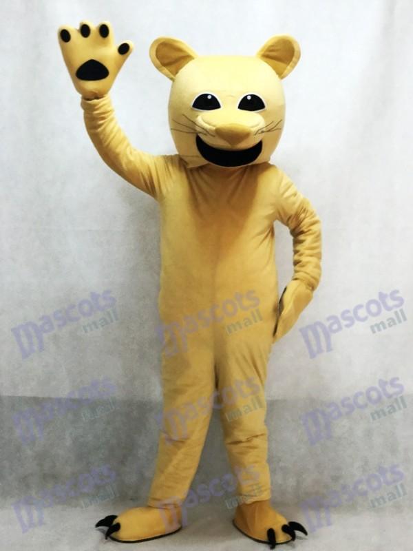 Tan Puma Maskottchen Kostüm Tier