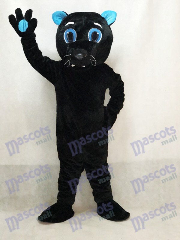 Sir Schnurren des Carolina Panthers Maskottchen Kostüm Black Panther