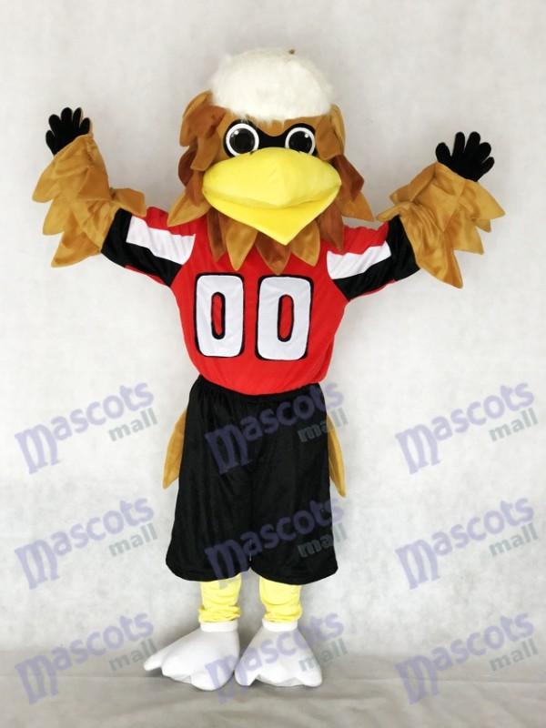 Erwachsene New Atlanta Falcons Freddie Falcon Maskottchen Kostüm Tier