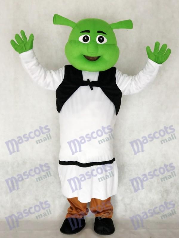 Shrek Maskottchen Kostüm für Erwachsene Cartoon