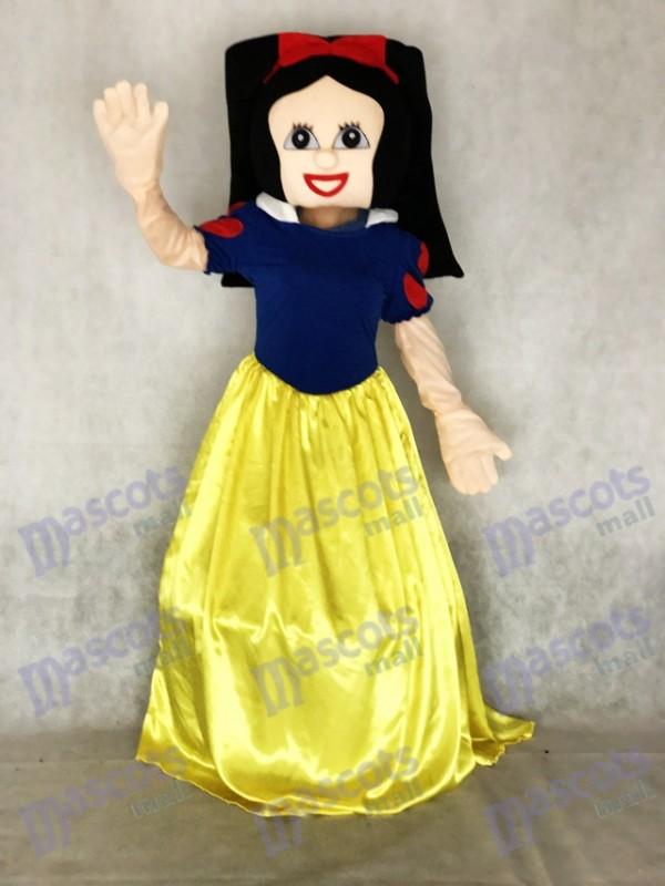Neu Schneewittchen Schneewittchen Cinderella Maskottchen Kostüm Xmas Party Karneval