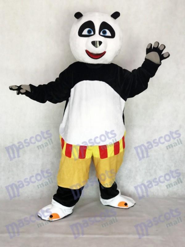 Kung Fu Panda Kostüm Maskottchen Kostüm Erwachsene Cartoon Anime