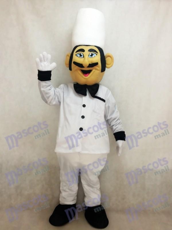 Restaurant Promotion italienisches Chef Koch Maskottchen Kostüm