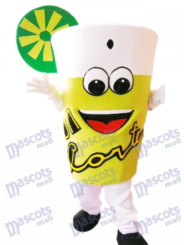 Leckeres Limonade-Maskottchen-Kostüm-Getränk-Flasche