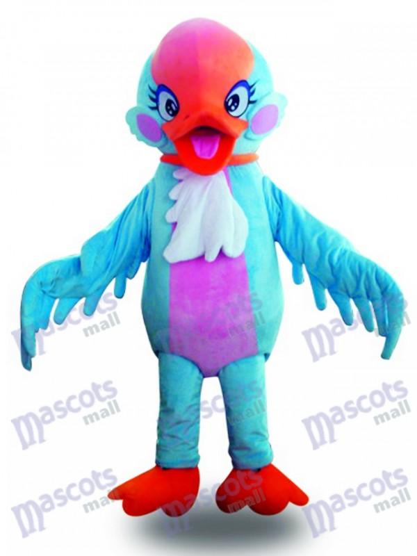 Red Head Blue Swan Vogel Maskottchen Kostüm Tier