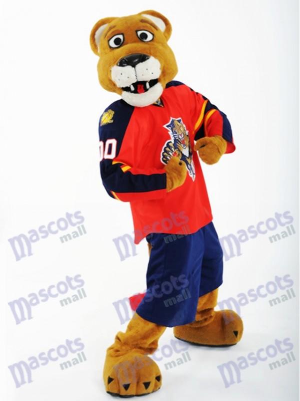 Stanley C. Panther von Florida Panthers Maskottchen Kostüm Tier