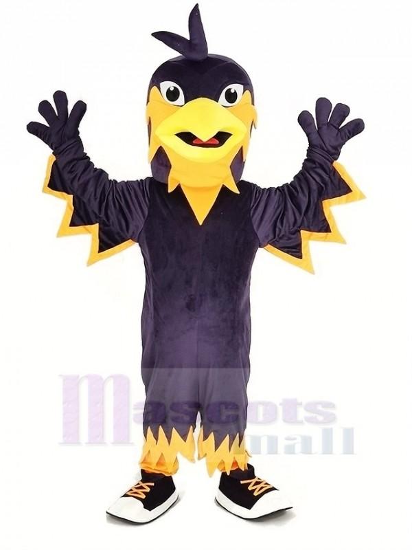 Lila Phönix Maskottchen Kostüm Tier