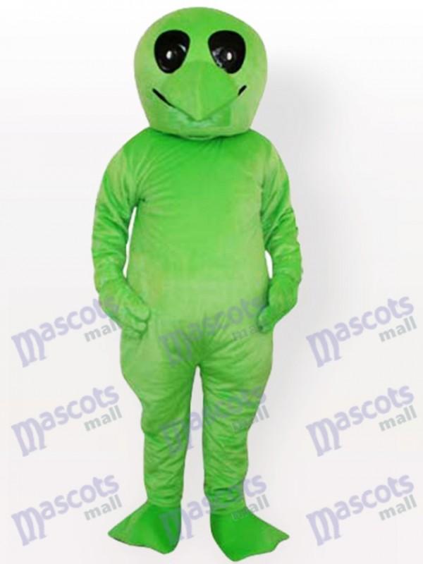 Grünes Alien Adult Party Maskottchen Kostüm