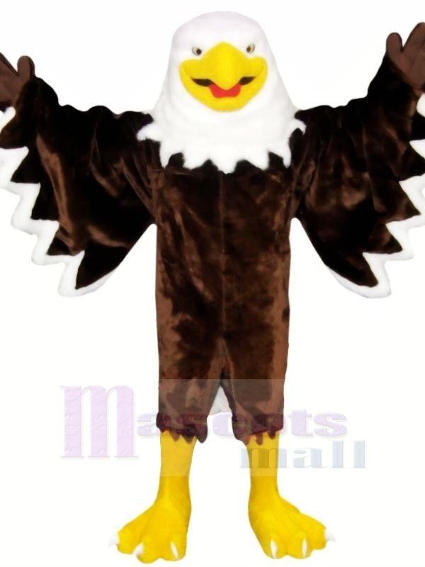 Lächelnd Braun Adler Maskottchen Kostüme Tier