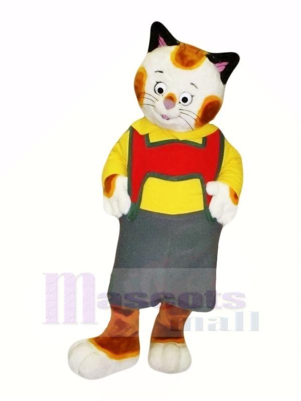 Süß Muster Katze Maskottchen Kostüme Karikatur