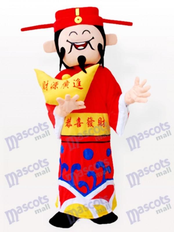 Chinesisches Mammon Maskottchen Kostüm