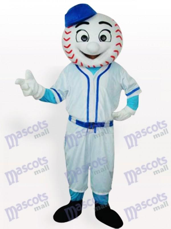 Mr. Met Mets Baseball Mann Maskottchen Lustiges Kostüm