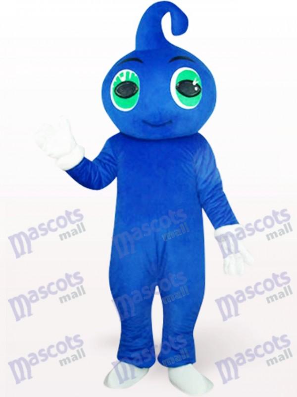Süßes blaues Baby Maskottchen Kostüm