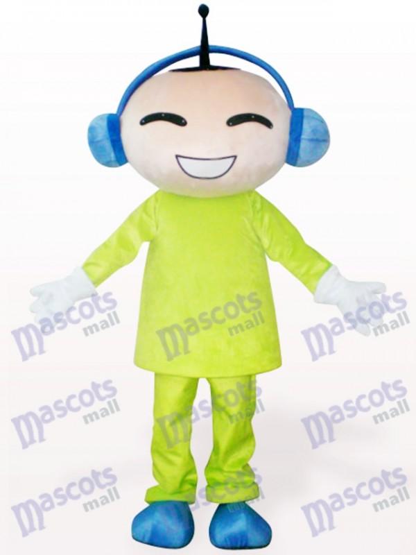 Antennen Puppe Cartoon Maskottchen Kostüm für Erwachsene