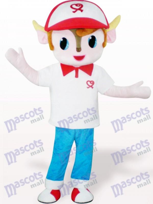 Yangyang Cartoon Maskottchen Kostüm für Erwachsene