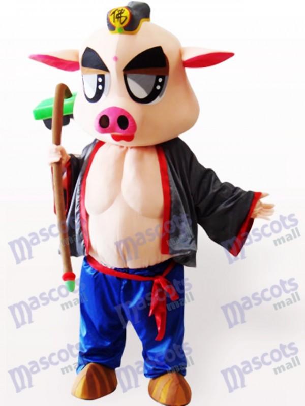 Piggie Tier Maskottchen Kostüm für Erwachsene