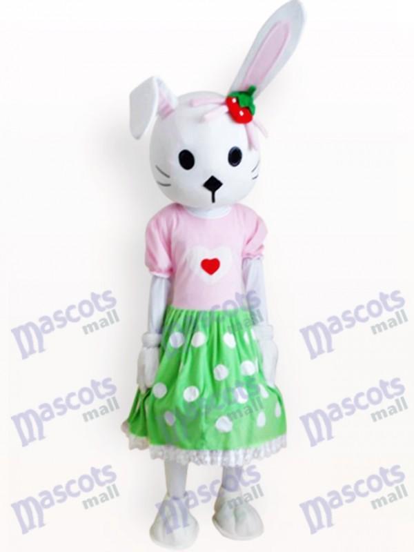 Osterhasen Kaninchen Tier erwachsenes Maskottchen Kostüm