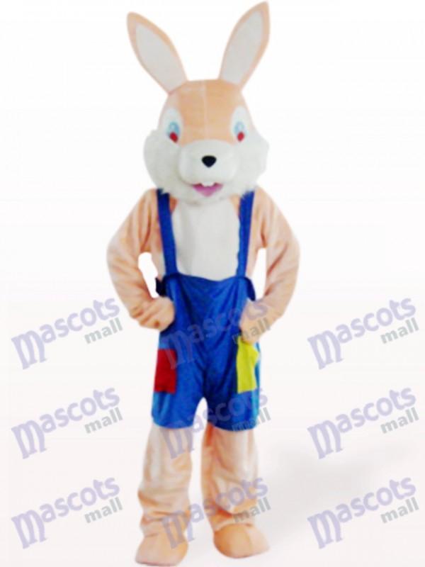Ostern rosa Bunny Rabbit Tier Maskottchen Kostüm