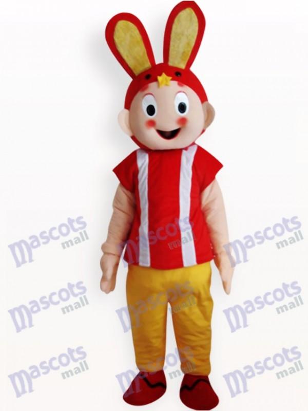 Osterhase Tier Maskottchen Kostüm für Erwachsene