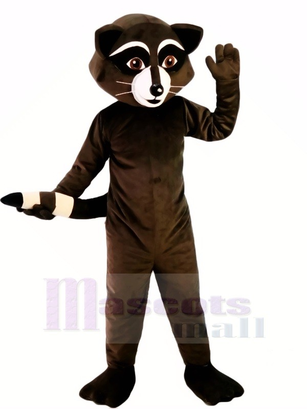 Wild Schwarz Waschbär Maskottchen Kostüme Karikatur
