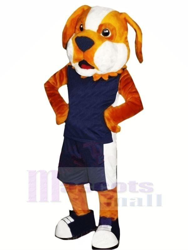Leistung Sportlich Hund Maskottchen Kostüme Karikatur