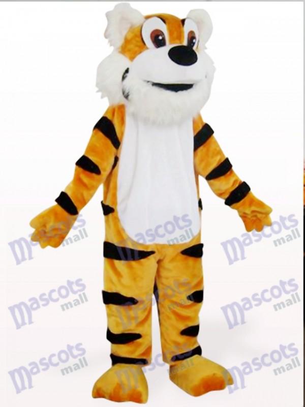 Orange Tiger Tier Maskottchen Kostüm