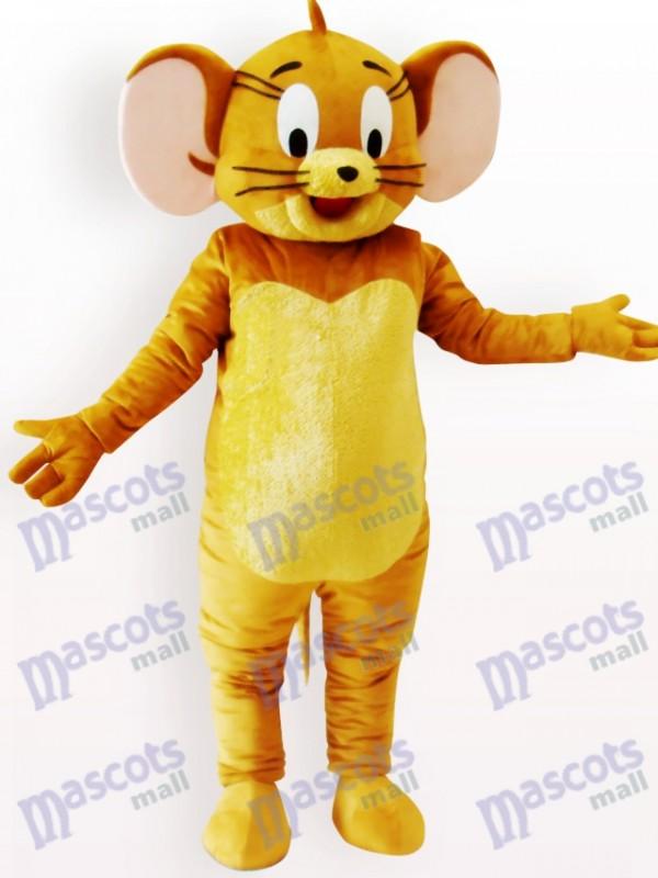 Jerry Maus Maskottchen Kostüm für Erwachsene
