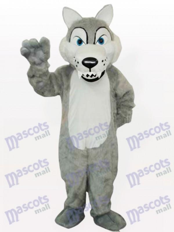 Timber Wolf Maskottchen Lustiges Kostüm