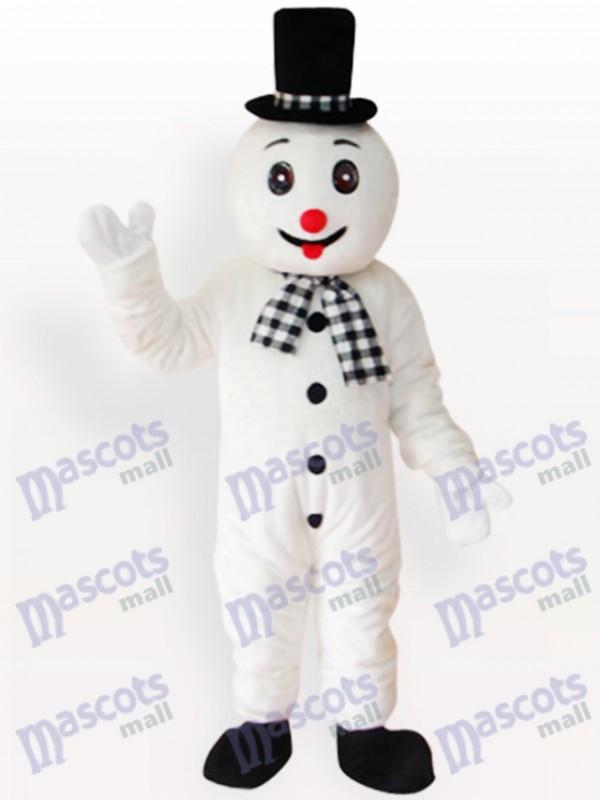Schneemann Weihnachten Xmas Erwachsenen Maskottchen Kostüm